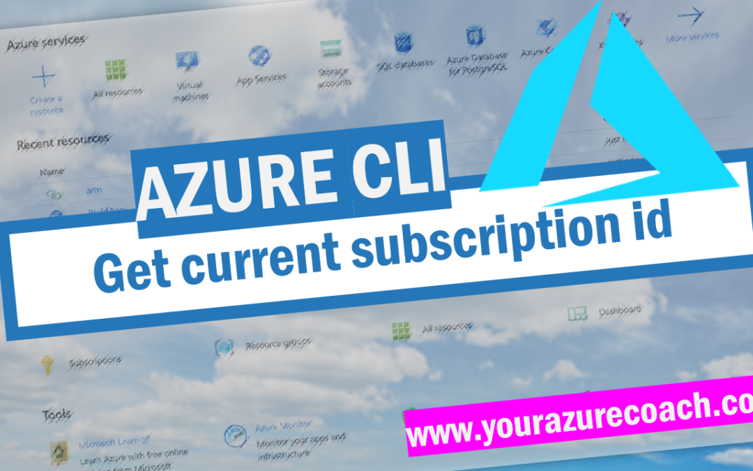 Get subscription id with Azure CLI
