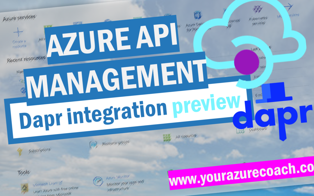 Azure API Management integration with Dapr