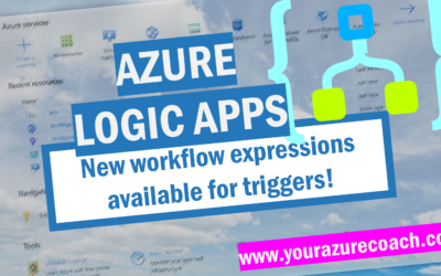 New workflow expressions for Logic Apps triggers!