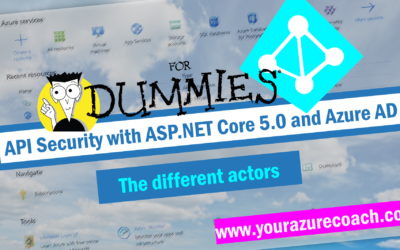 API SECURITY FOR DUMMIES | The different actors