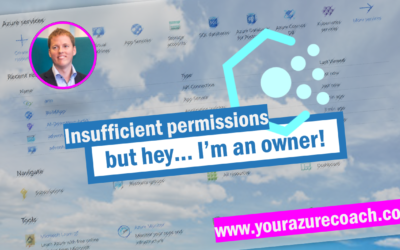 Insufficient permissions to… while being an owner!