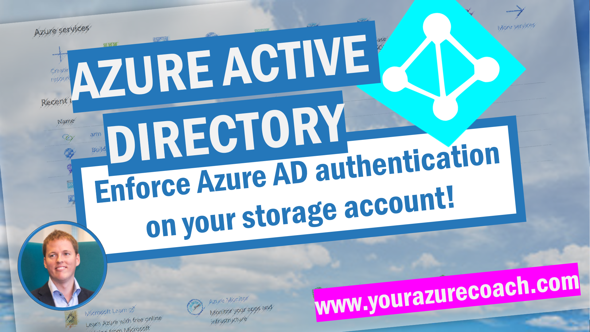 Enforce Azure AD authentication on your storage account!